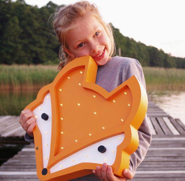 night light fox for kids