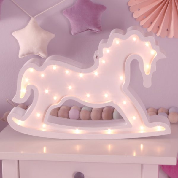 Rocking horse night light