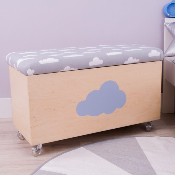wooden storage cloud cover